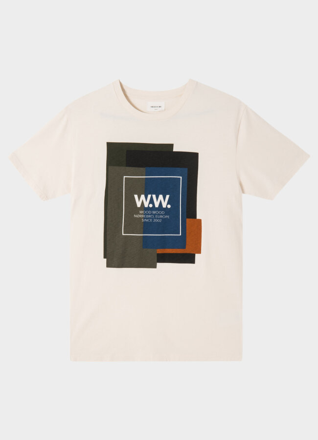 WOOD WOOD - Quilt T-shirt