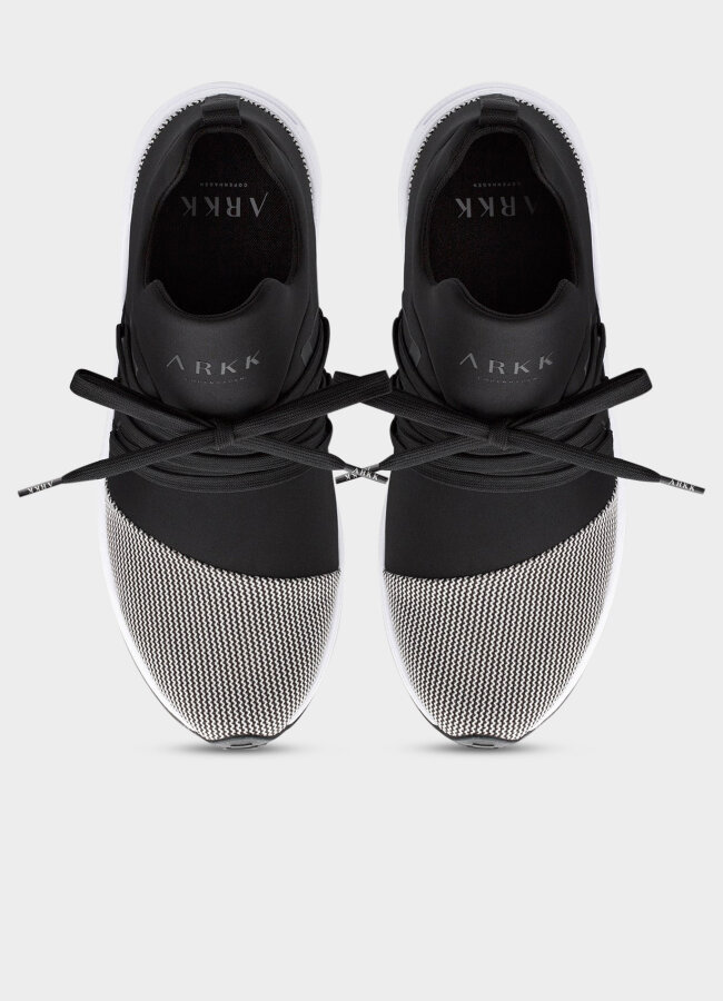 Arkk Copenhagen - Raven Mesh S-E15 Black White