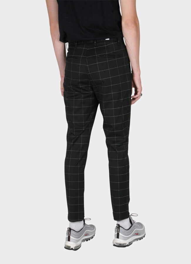 woodbird - Klaus Window Pant - Black