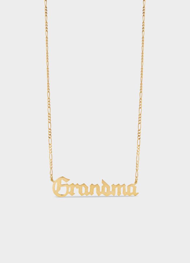 Maria Black - Grandma Necklace Gold HP