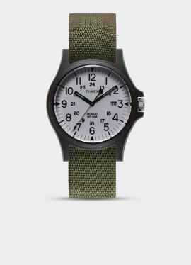 Timex - ACADIA 40MM MILITARY GROSGRAIN STRAP