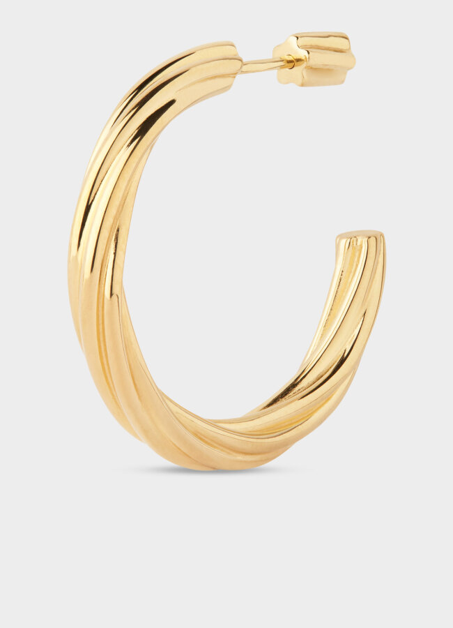 Maria Black - Arsiia Hoop 30 Earring Gold HP