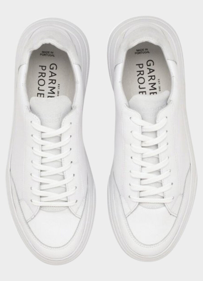 Garment Project - Off Court - White Leather / Wh