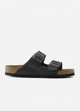 Birkenstock - Arizona NU Oiled SFB Black