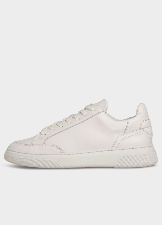 Garment Project - Off Court - All White Leather