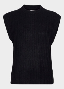 NORR - Nordby o-neck knit waistcoat
